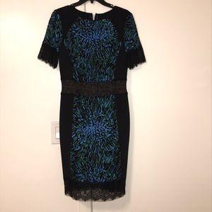 Tadashi Shoji midi dress *NEW* Never work before.